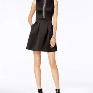 MAKE OFFER-Michael Kors Embellished Front Dress L